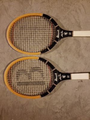 2 - Bancroft Bjorn Borg. -Wooden Tennis rackets for Sale in St. Peters, MO