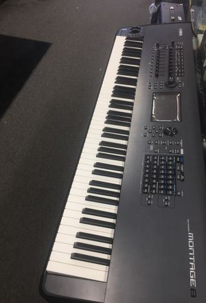 Yamaha montage 8 keyboard for Sale in Silver Spring, MD