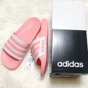 New - Adidas Pink Slides - Size 8 Women's for Sale in Lake Forest, CA