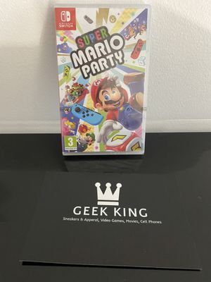 Brand New Super Mario Party (Nintendo Switch) for Sale in Savannah, GA