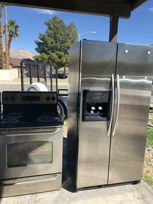 Refrigerator stove eltric for Sale in Las Vegas, NV