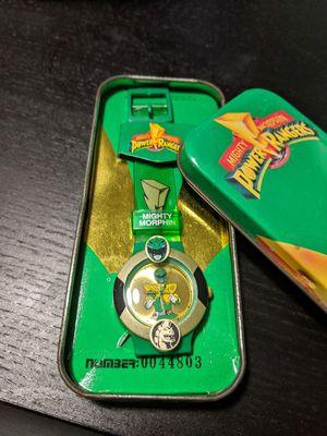 Power ranger vintage watch (green ranger) for Sale in Pembroke Pines, FL