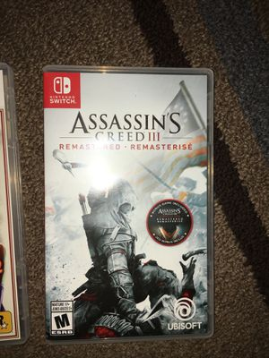 New Nintendo Switch games for Sale in San Angelo, TX
