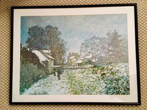 Framed Monet Print for Sale in Phoenix, AZ