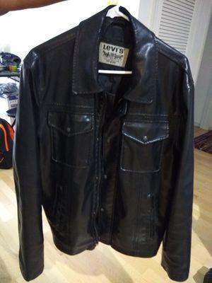 Levi's leather jacket for men - Medium size for Sale in West McLean, VA