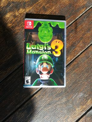 Luigis mansion nintendo switch for Sale in Perris, CA
