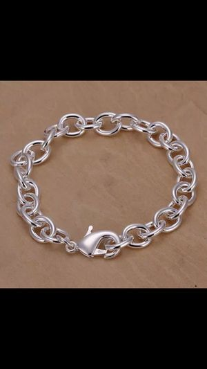 "Sterling silver plated 8"" bracelet for Sale in Silver Spring, MD"