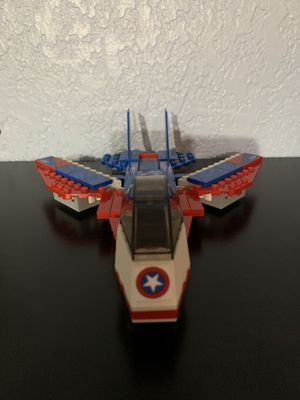 Lego Captain America's Jet for Sale in Upland, CA