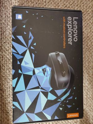 Lenovo Explorer VR Headset With Motion Controllers for Sale in Pompano Beach, FL