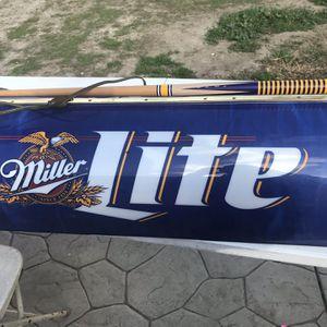 Miller Lite Pool Table Light for Sale in Norwalk, CA