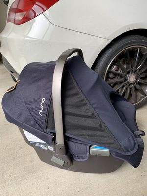 NUNA PIPA car seat with base for Sale in Redmond, WA