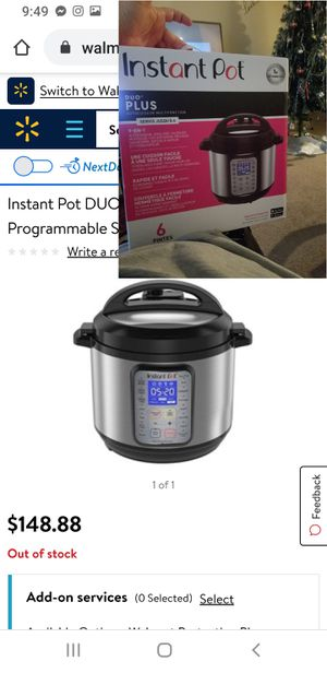 Instant Pot Duo plus for Sale in Reynoldsburg, OH