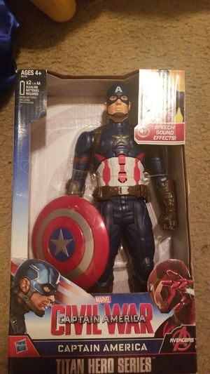 Captain america toy for Sale in Pasadena, CA