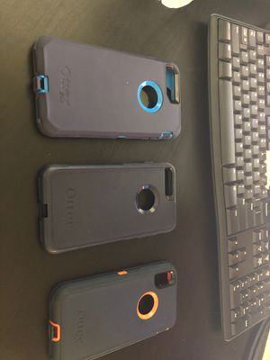 iPhone cases 8,8plus,x all for 50 $,otter cases for Sale in Rancho Cucamonga, CA
