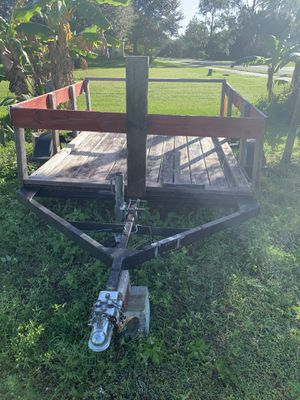 6x7 trailer in great shape for Sale in Lehigh Acres, FL