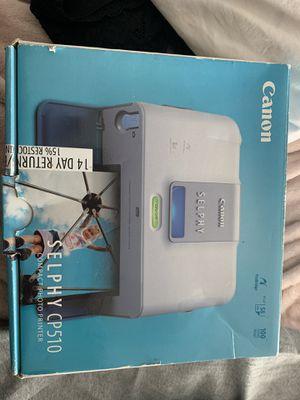 Canon Selphy cp510 for Sale in Pleasanton, CA