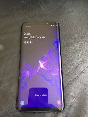 Samsung Galaxy s9 Plus Factory Unlocked (MINT) for Sale in Irvine, CA