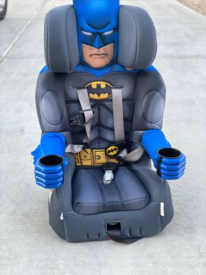 Batman car seat and booster for Sale in Riverside, CA