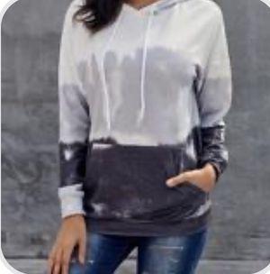 Brand new tie dye ombre thin hooded sweatshirt for Sale in Atlanta, GA