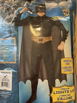 Batman Costume - Medium Size for Sale in Sacramento,  CA