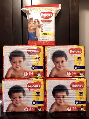 Huggies Size 3 bundle for Sale in Melvindale, MI