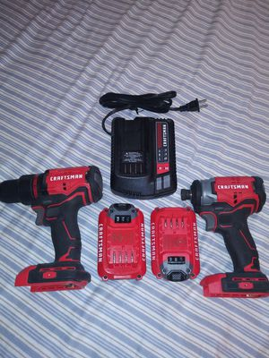 Craftsman brushless 20-volt lithium drill set brand new for Sale in Johnson City, NY