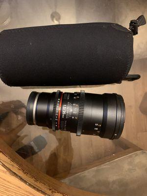 Rokinon Lens 35mm w/ Case for Sale in Seattle, WA
