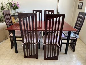 Italian Dining Set with six chairs for Sale in Cerritos, CA