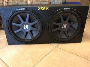 15s kickers cvr subwoofers in probox $210 for Sale in Dallas, TX