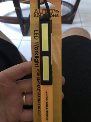 LED PEN STYLE WORK LIGHT 180 DEGREE ROTATION MAGNETIC CLIP $10 BRAND NEW ONLY 2 LEFT ! for Sale in Hialeah, FL