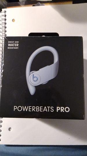 Power Beats PRO by Dr. Dre. Color; Glacier Blue for Sale in Provo, UT