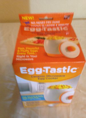 Ceramic Microwave Egg Cooker for Sale in Irving, TX