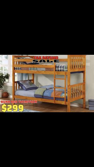 Twin Bunk Beds for Sale in Beverly Hills, MI
