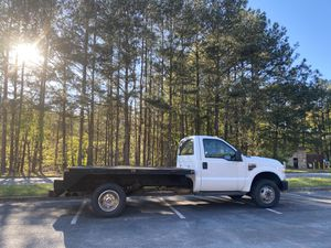 2010 Ford F350 Super Duty Regular Cab Flatbed for Sale in Kennesaw, GA