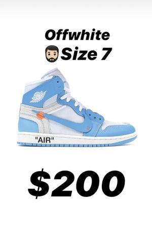 Off white x Air Jordan 1 for Sale in Ocala, FL