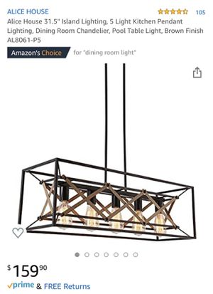 New light fixture for Sale in Santa Fe Springs, CA