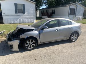 Parting out 2011 Mazda 3 for Sale in Fort Worth, TX
