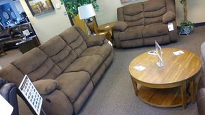 GREAT RECLINING SOFA AND LOVESEAT SET AVAILABLE IN MULTIPLE COLORS for Sale in Portland, OR