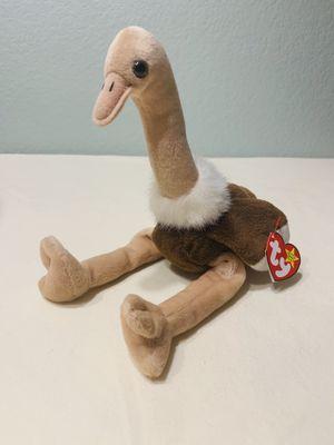 """""""Stretch"""" ostrich bird TY Beanie Baby 1997 Retired for Sale in Austin, TX"""