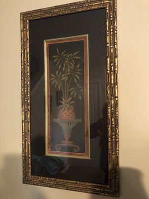 Gold frame with painting for Sale in Bonney Lake, WA