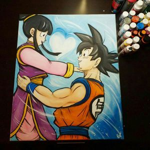 Chi-Chi & Goku! By Quil - Dragonball Z for Sale in Tracy, CA