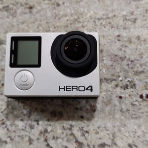 GoPro Hero 4 + Accessory Kit, Extra Battery And Travel Case for Sale in Ontario, CA