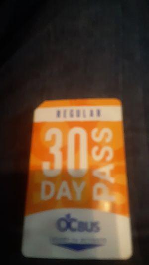 Regular bus pass for Sale in Huntington Beach, CA