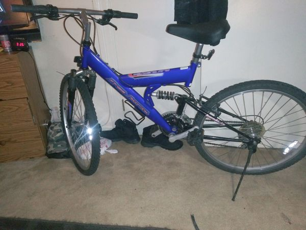 Need gone no room in my room for it Free spirit Pro mountain bike 26 in 21-speed good condition ready to ride everything works