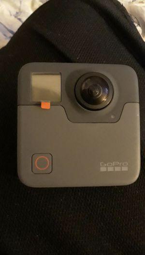 GoPro fusion 360 degree video camera for Sale in San Jose, CA