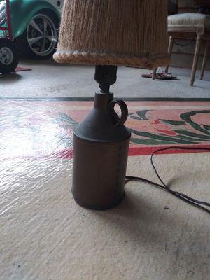 Vintage handmade copper whiskey jug lamps for Sale in LAKE CLARKE, FL