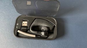 Plantronics Voyager Legend Bluetooth headset with boom microphone, additional charger and USB adapter for computer - Used for Sale in Chicago, IL