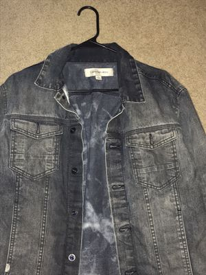 Calvin Klein Jeans Denim Jacket Size L for Sale in Arlington, VA