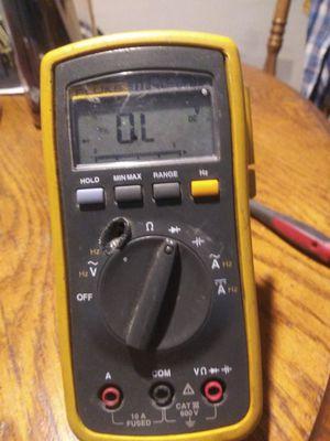 Fluke 111 true RMS multimeter for Sale in Victorville, CA