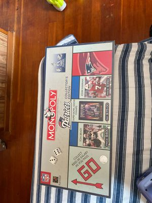 Monopoly New England Patriots edition New in plastic for Sale in Chicopee, MA